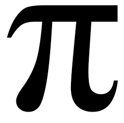 image of the Greek character Pi